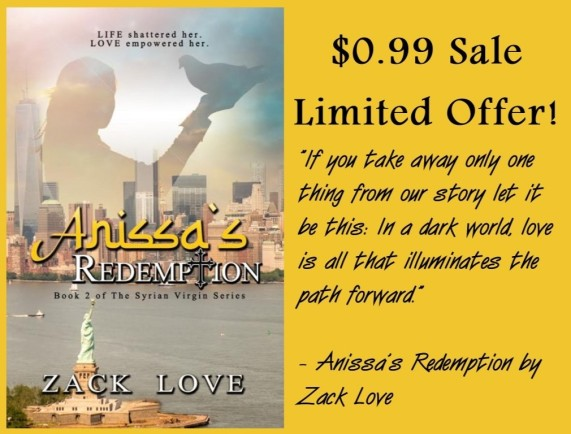Anissa's Redemption - 99 cent sale